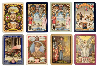 Lot 478 - Worshipful Company. A collection of 82 packs of playing cards, 1888-2000