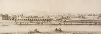 Lot 334 - Zehender (Johann Caspar, 1742-1805). Panoramic landscape, 1773