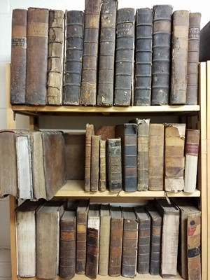 Lot 398 - Law. A large collection of 17th-19th century law reference