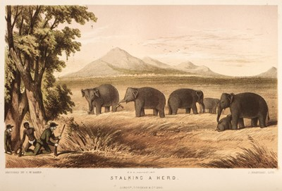 Lot 43 - Baker (Samuel W.). The Rifle and the Hound in Ceylon, 1st edition, 1854, & 9 others on Sri Lanka