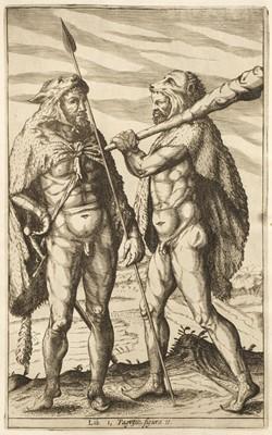 Lot 10 - Clüver (Philipp). Germaniae antiquae libri tres, 1st edition, Elzevir, 1616, ex libris Thomas Mansel
