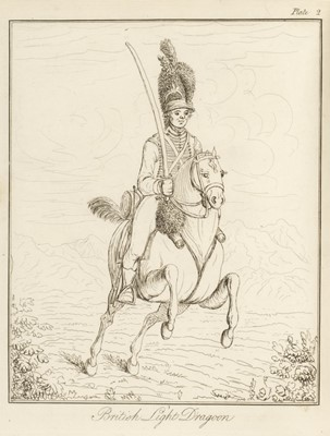Lot 334 - Warnery (Charles de). Remarks on Cavalry, 1st edition, 1798, ex libris Ernest, King of Hanover