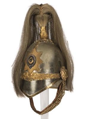 Lot 371 - Helmet. Victorian Berkshire Yeomanry Troopers Helmet