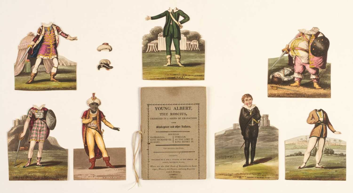 Lot 459 - Paper Doll Book. Young Albert, the Roscius, 2nd edition, 1811