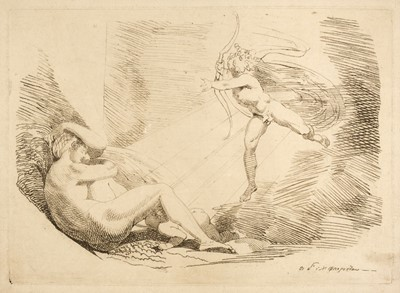 Lot 339 - Fuseli (Henry, 1741-1825). Chrysogone conceives, in a ray of sunshine