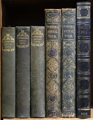 Lot 29 - Roscoe (Thomas). The Landscape Annual, 3 volumes, 1830, 32 & 34