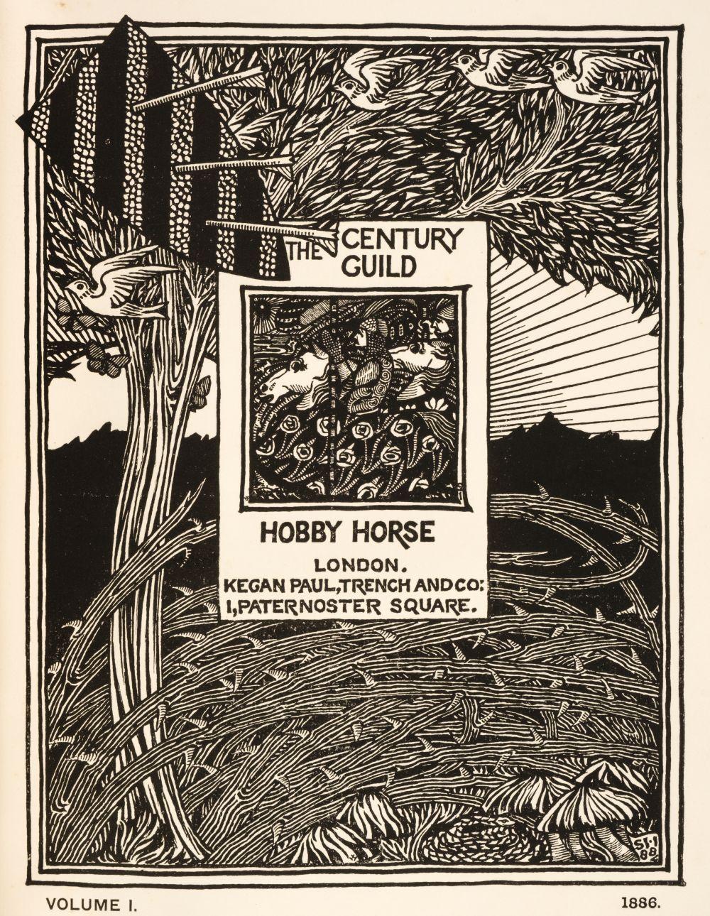 Mackmurdo (A.H., et al., editors). The Century Guild Hobby Horse, 7 vols...