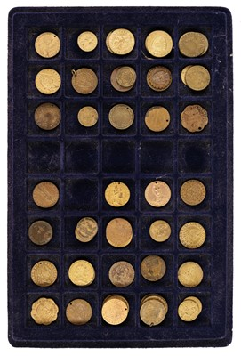 Lot 75 - Tokens. Imitation Spade Guineas. George III and later