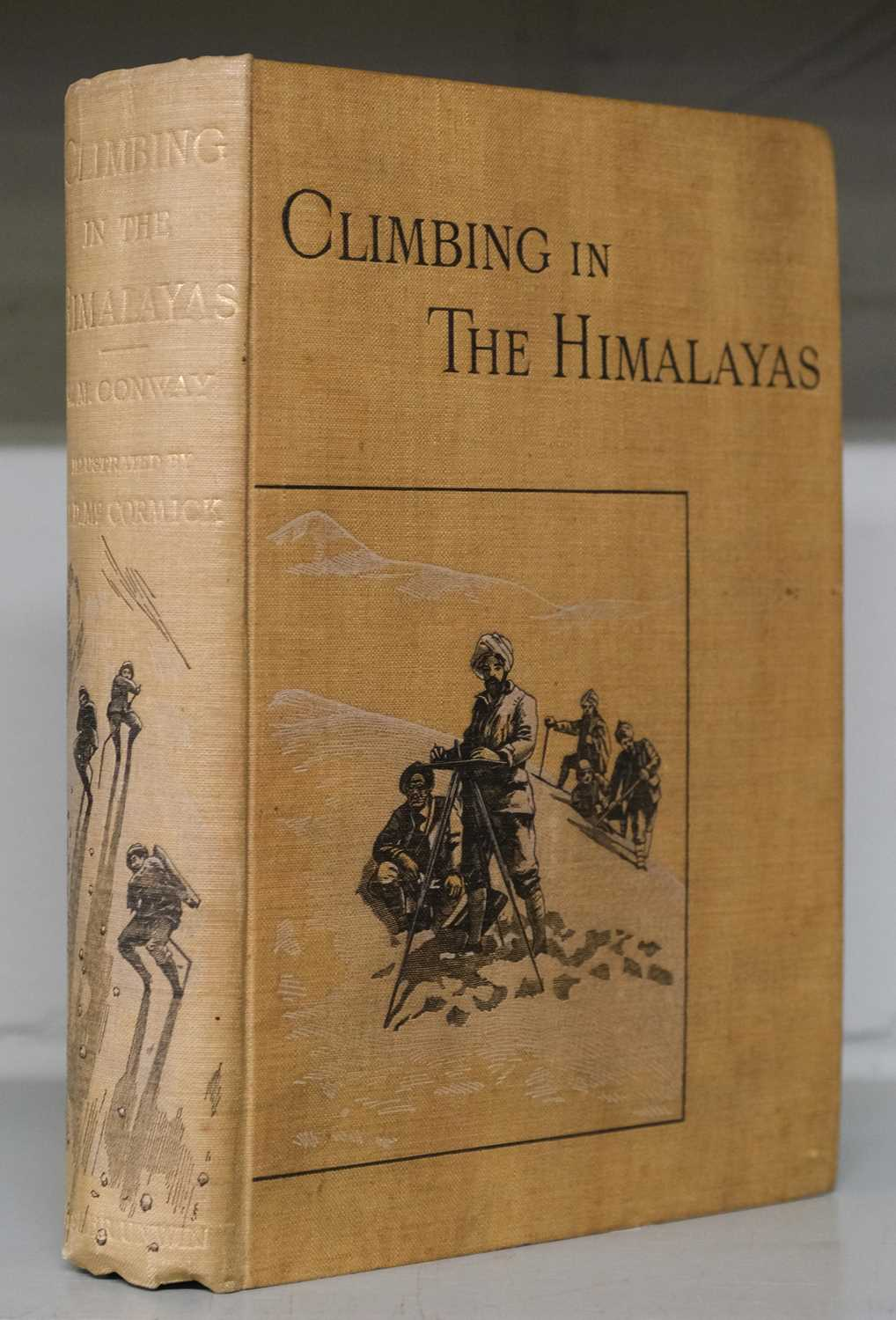 Lot 11 - Conway (William Martin). Climbing and Exploration in the Karakoram-Himalayas, 1894