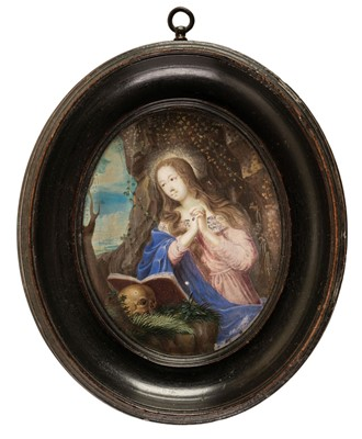 Lot 331 - Stella (Jacques, 1596-1657, manner of). The Penitent Magdalene, circa 1640
