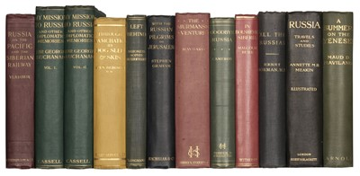 Lot 46 - Buchanan (Sir George). My Mission to Russia, 1st edition, 1923, & 10 others on Russia