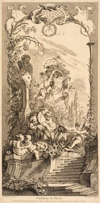 Lot 337 - Duflos (Claude Augustin, 1700-1786). Triomphe de Priape, & Leda