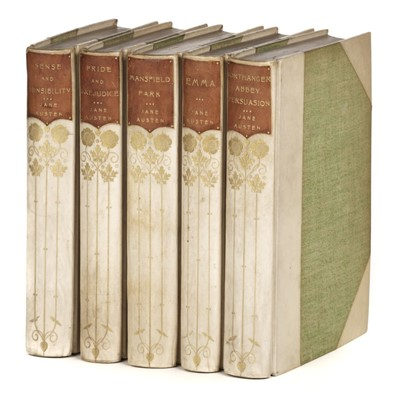 Lot 491 - Austen (Jane). The Works of Jane Austen, 5 volumes, reprinted, 1900-1901