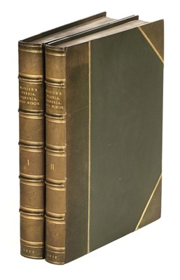Lot 75 - Morier (James). A Journey through Persia [and] A Second Journey, 1st editions, 1812-18