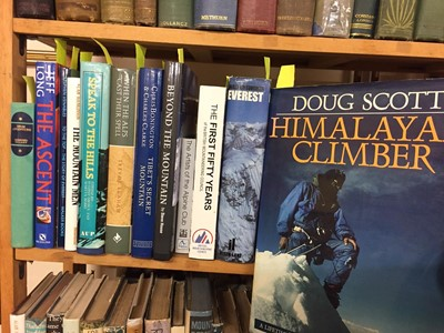 Lot 413 - Mountaineering. A large collection of late 19th century & modern mountaineering reference