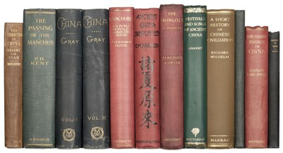 Lot 48 - Callery (J.-M.). History of the Insurrection in China, 2nd edition, 1853, & 10 others