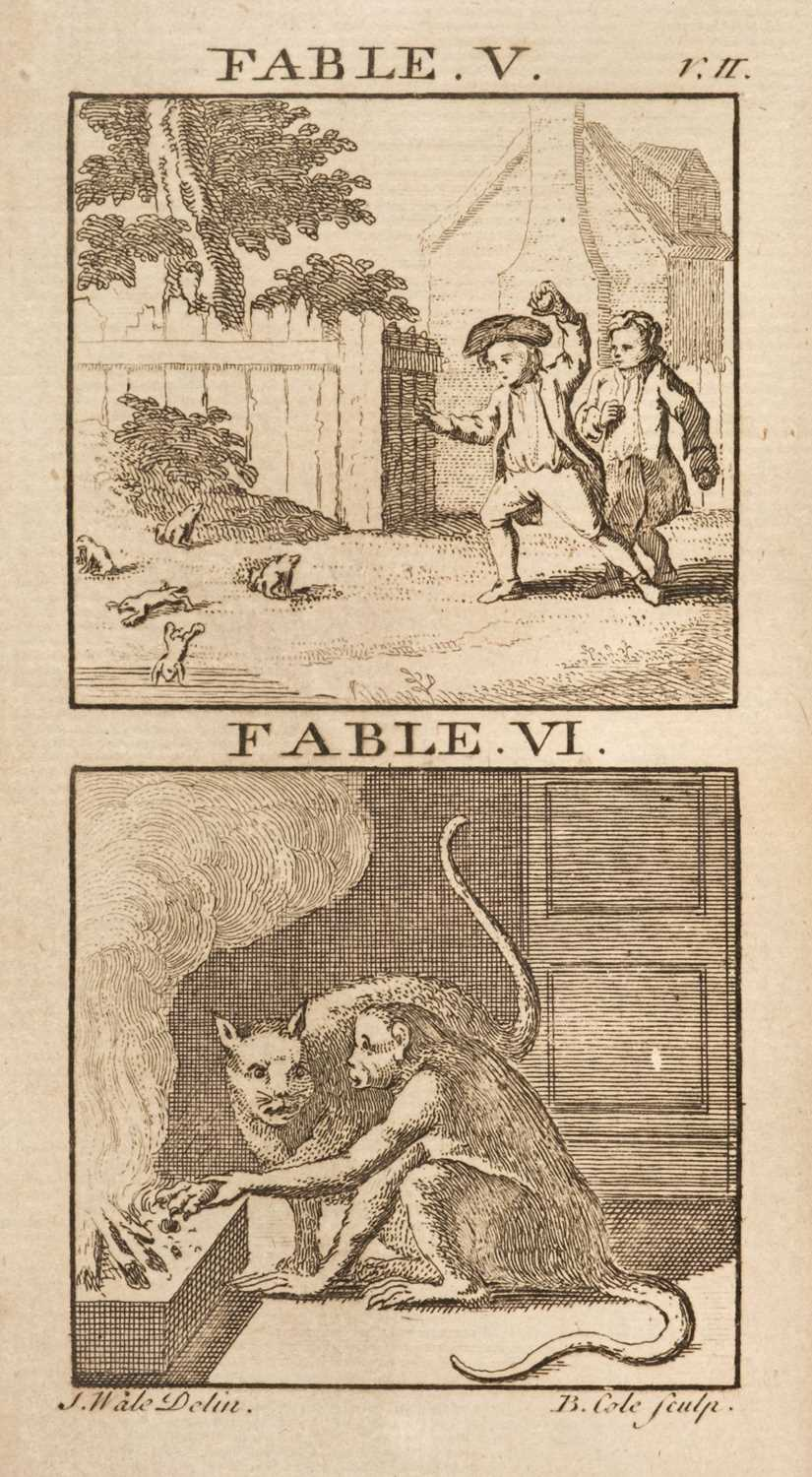 Lot 453 - Fables. Select Tales and Fables, with engravings by B. Cole, London: F. Wingrave, [1780?]