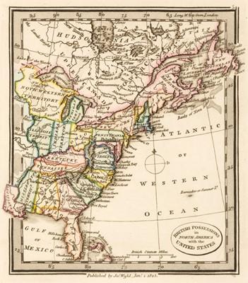 Lot 40 - Wyld (James). Atlas Minimus Universalis, or A Geographical Abridgement, 1825