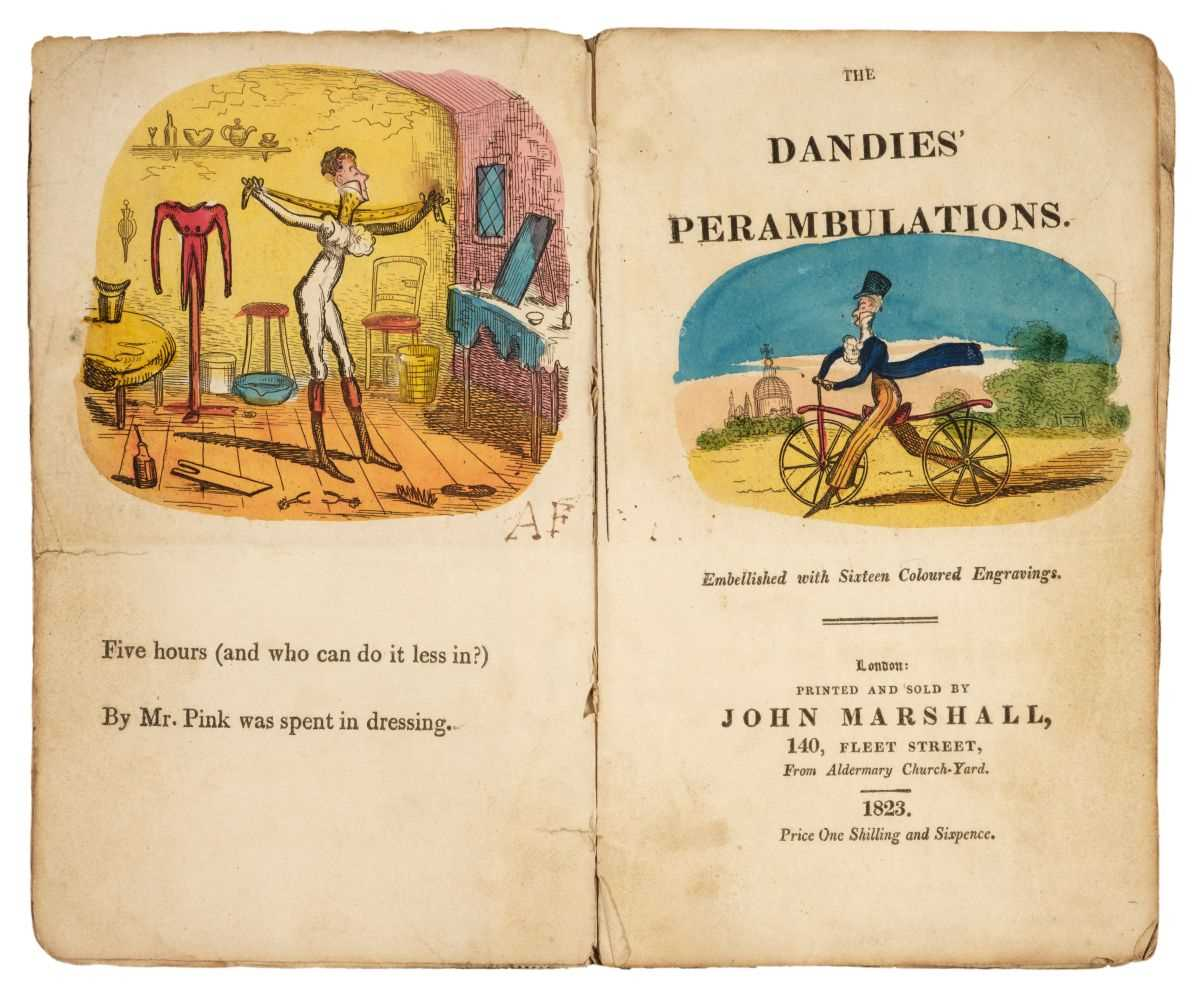 Lot 455 - Marshall (John, publisher). The Dandies' Perambulations