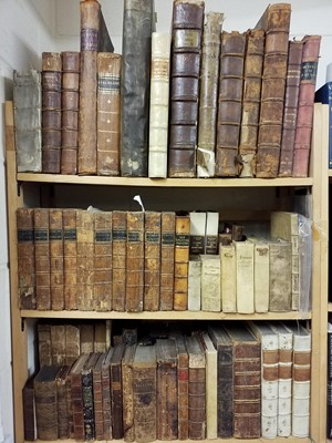 Lot 388 - Antiquarian. A large collection of 17th -19th century literature & reference