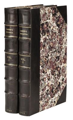 Lot 135 - Camden (William). Britannia: or a Chorographical Description, 2 vols., 1722