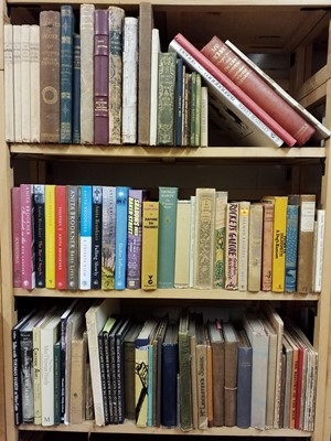 Lot 392 - Literature. A collection of mid-19th & 20th century fiction & illustrated literature