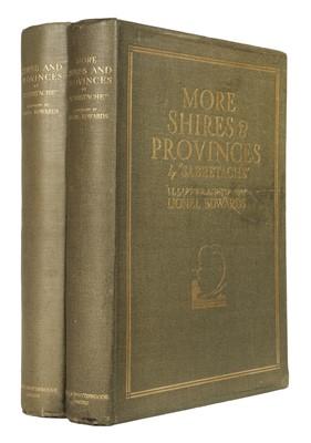 Lot 48 - Edwards (Lionel, illustrator). Shires and Provinces, 1926