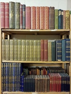 Lot 403 - Literature.  A large collection of 19th & early 20th century literature & reference
