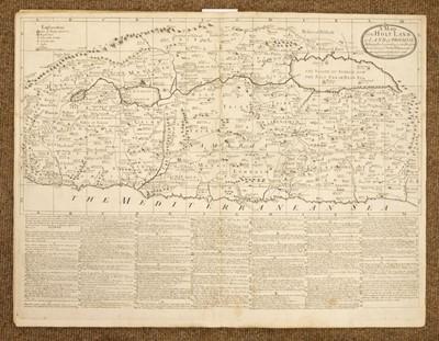 Lot 7 - Bowles (Thomas). Geographia sacra illustrata, 1st edition, 1728, one copy on ESTC