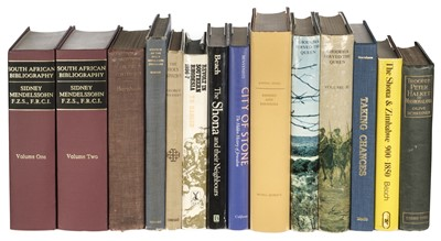 Lot 14 - Mendelssohn (Sidney). Mendelssohn's South African Bibliography, c.1990, & 12 others