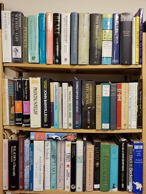 Lot 408 - Literary Biographies. A large collection of modern literary biographies