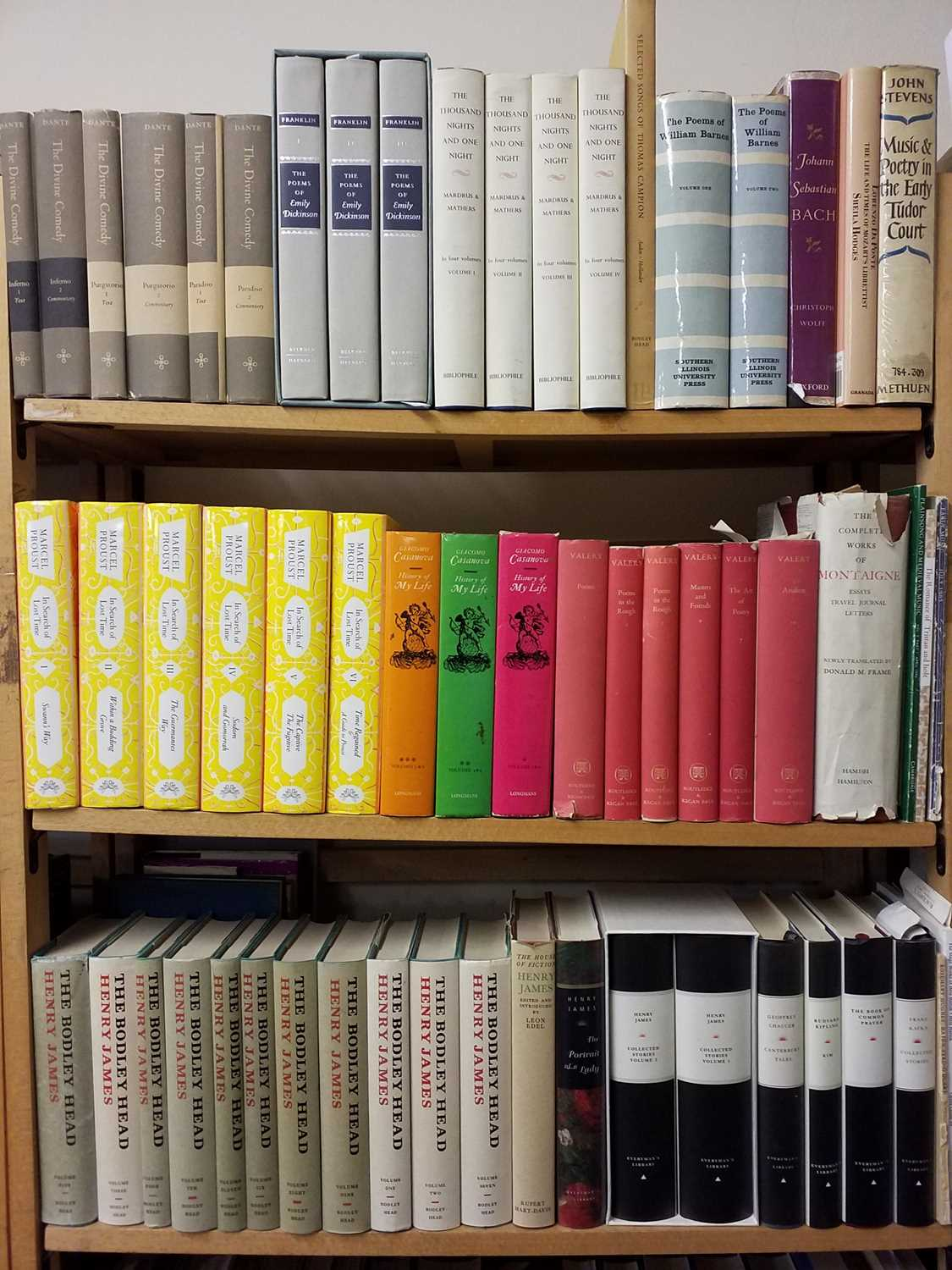 Lot 410 - Literature. A large collection of modern author sets & literature