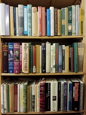 Lot 412 - Literary Biographies. A large collection of modern literary biographies