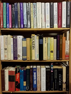 Lot 417 - Literary Biographies. A large collection of modern literary biographies & reference