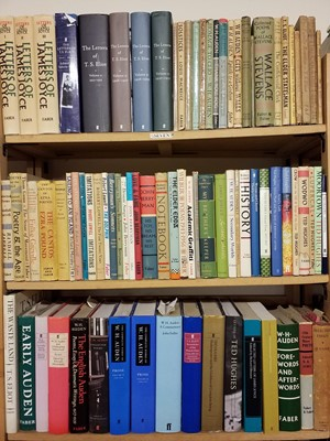 Lot 419 - Faber & Faber. A large collection of Faber & Faber poetry & literature