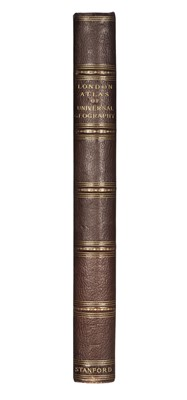 Lot 33 - Stanford (Edward). Stanford's London Atlas of Universal Geography, 4th edition, 1898