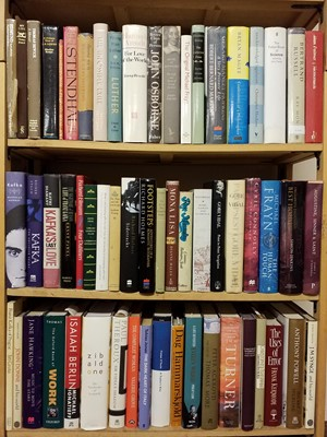 Lot 420 - Literary Reference. A large collection of literary reference & biographies