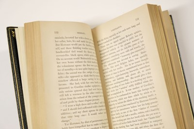 """Lot 493 - Bronte (Charlotte, """"Currer Bell""""). Shirley. A Tale, 3 volumes, 1st edition, 1849"""