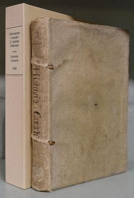 Lot 309 - Cavacci (Giacomo). Historiarum coenobii D. Justinae Patavinae libri sex., Venice, 1606