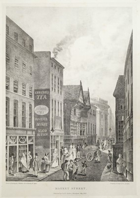 Lot 33 - Jackson (D. and P., publisher). Views of the Ancient Buildings in Manchester, 1823[-1825]