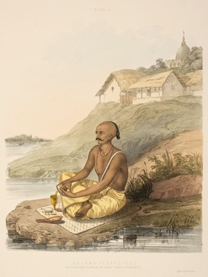 Lot 5 - Belnos (Mrs S. C.). The Sundhya or the Daily Prayers of the Brahmins, 1st edition, 1851
