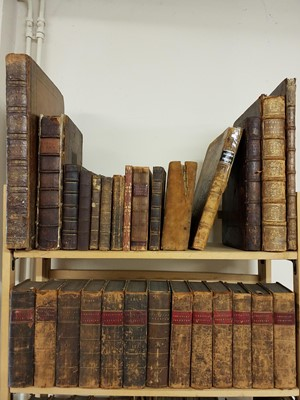 Lot 434 - Antiquarian. A collection of 17th - 19th century reference & literature