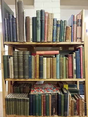 Lot 438 - Literature. A large collection of 19th & 20th century literature & fiction