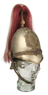 Lot 391 - Shropshire Yeomanry. An Edward VIII period helmet