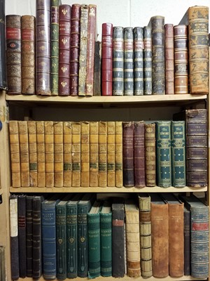 Lot 444 - Antiquarian. A large collection of 18th & 19th century literature & reference