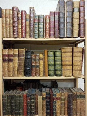 Lot 445 - Antiquarian. A large collection of mostly 19th century literature