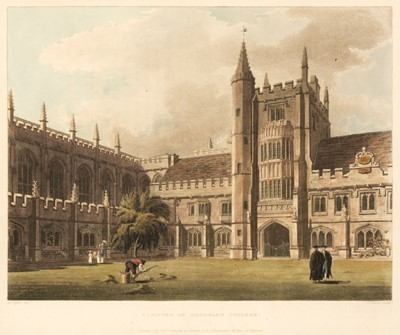 Lot 130 - Ackermann (Rudolph, publisher). A History of the University of Oxford, 1st edition, 1814
