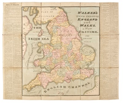Lot 473 - Walker's Tour through England and Wales, A New Pastime, 1809
