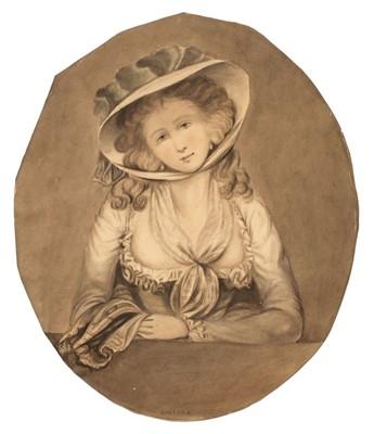 Lot 311 - Burney (Charles Francisco, 1760-1848). Evelina, circa 1780-1800, watercolour