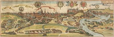 Lot 172 - Poland. Braun (G. & Hogenberg F.), Cracovia Metropolis Regni Poloniae, Cologne, 1617